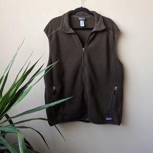 Patagonia Synchilla Men's Brown Sleeveless Vest